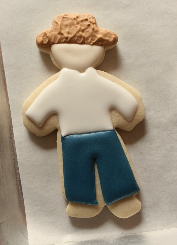 Standing Scarecrow Cookies 4