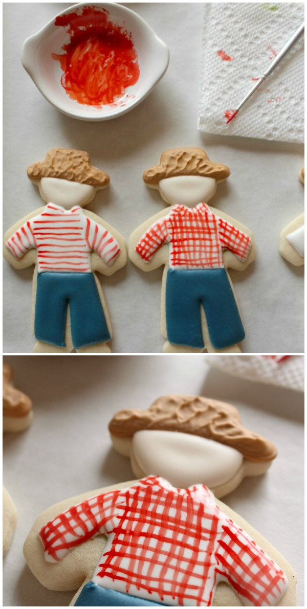 Standing Scarecrow Cookies 5b
