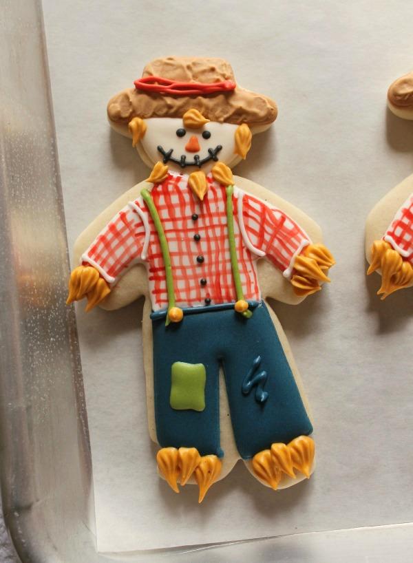 Standing Scarecrow Cookies 6