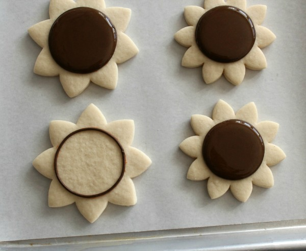 Sunflower Cookies 2