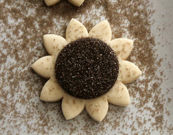 Sunflower Cookies 3