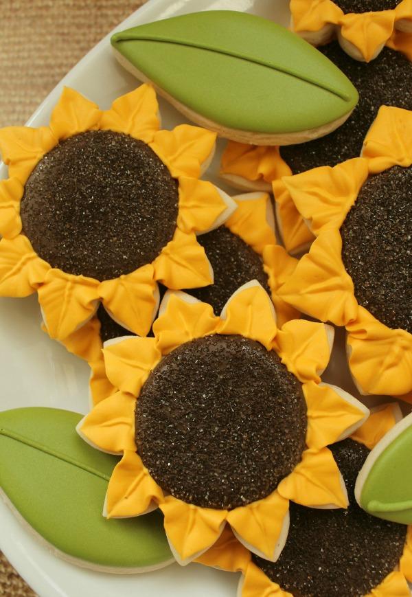 Sunflower Cookies Sweetsugarbelle