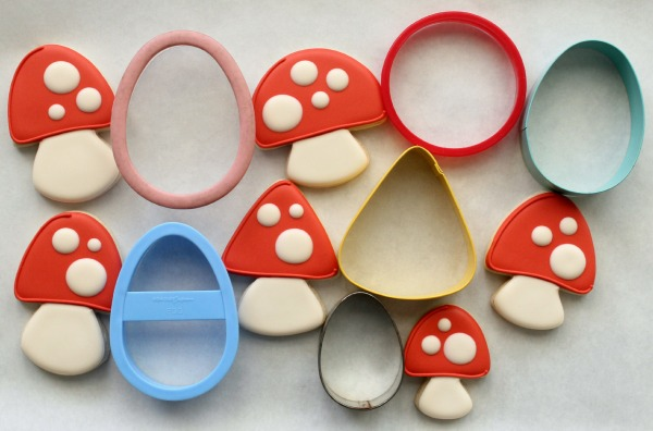 Toadstool Cookie Cutters