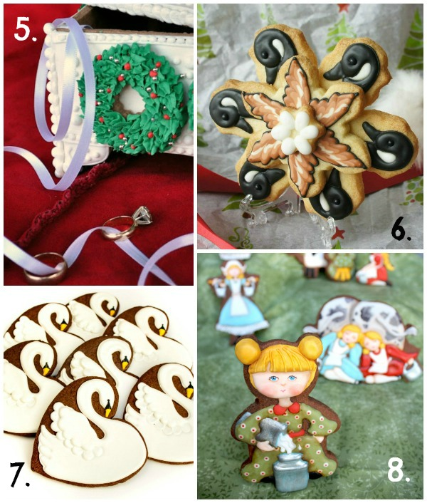 Twelve Days of Christmas Cookie Project 5-8