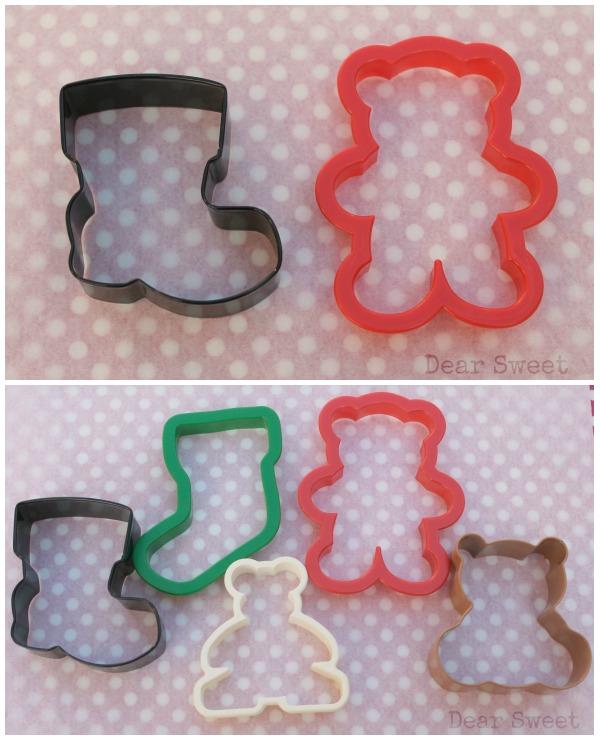 Christmas Bears by Dear Sweet Cookies