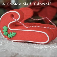 Cookie Sled Tutorial