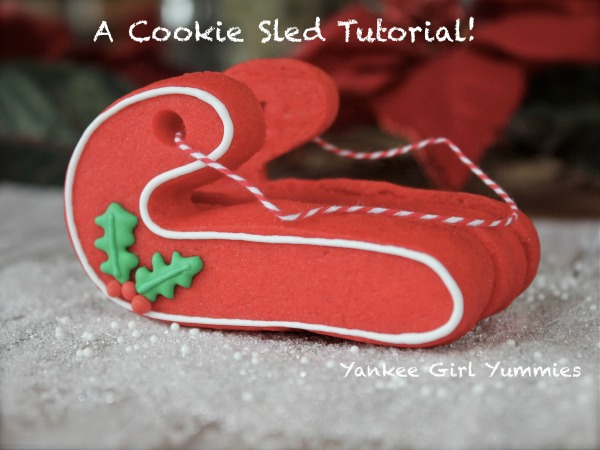 Cookie Sled Tutorial
