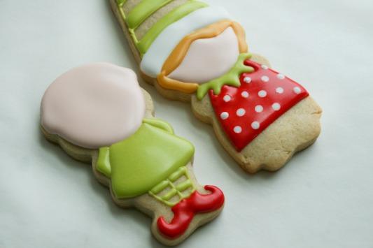 Elf Boy and Girl Cookies 6