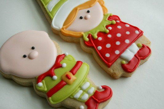 Elf Boy and Girl Cookies 7