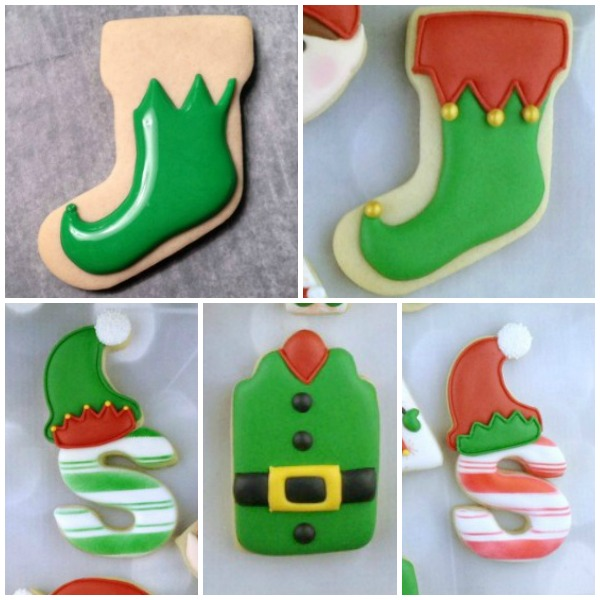 Elf Cookies for Christmas