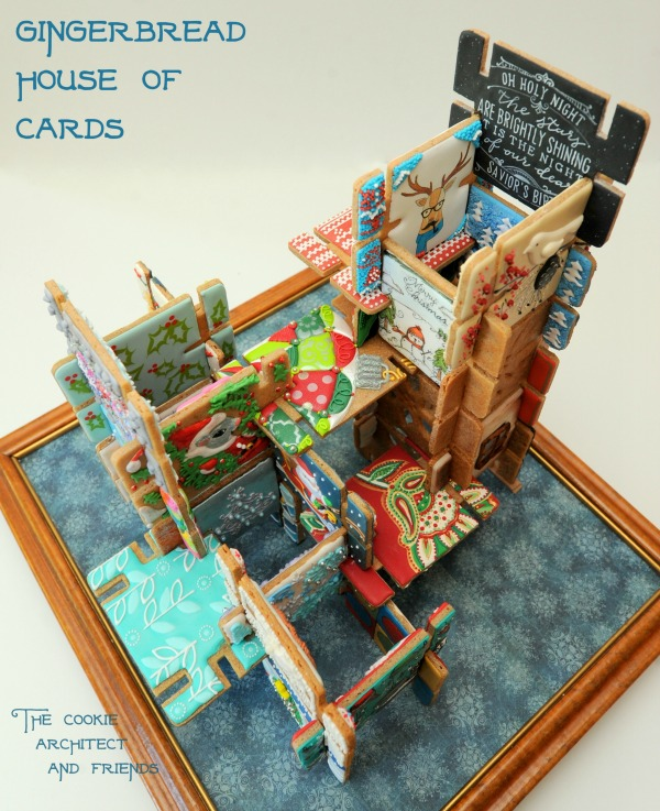 Gingerbread House of Cards by The Cookie Architect and Friends 2