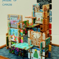 Gingerbread House of Cards by The Cookie Architect and Friends