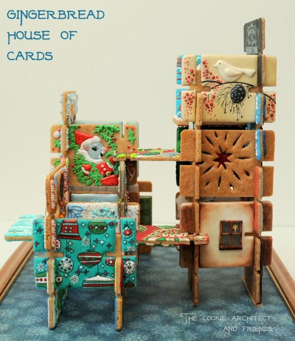 Gingerbread House of Cards by The Cookie Architect and Friends 3