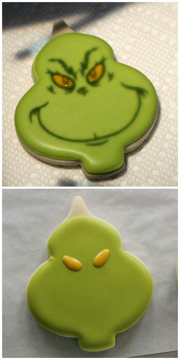 Grinch Cookies 3