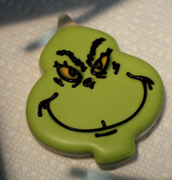 Grinch Cookies 4