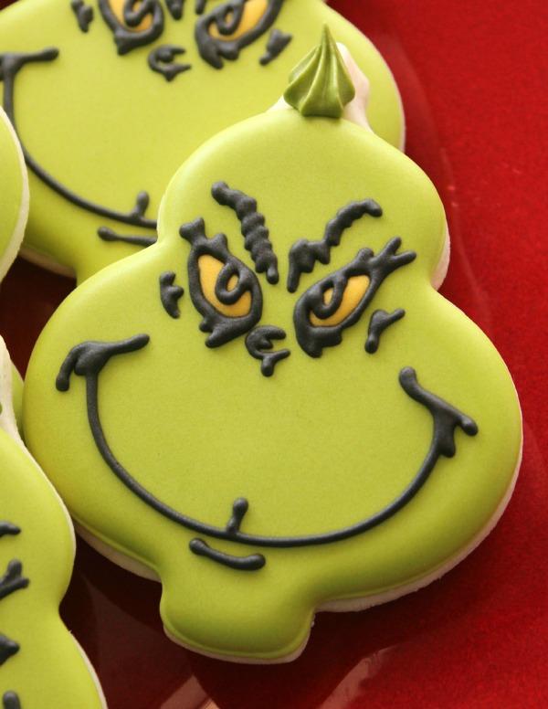 Grinch Cookies SweetSugarBelle