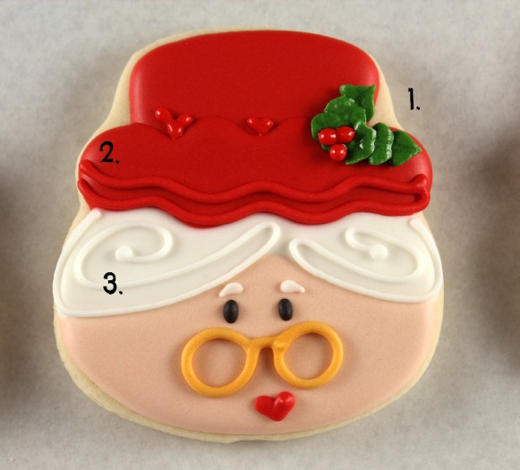 How to Make Mrs. Claus Cookies 4