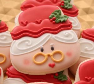 Mrs Claus Cookies