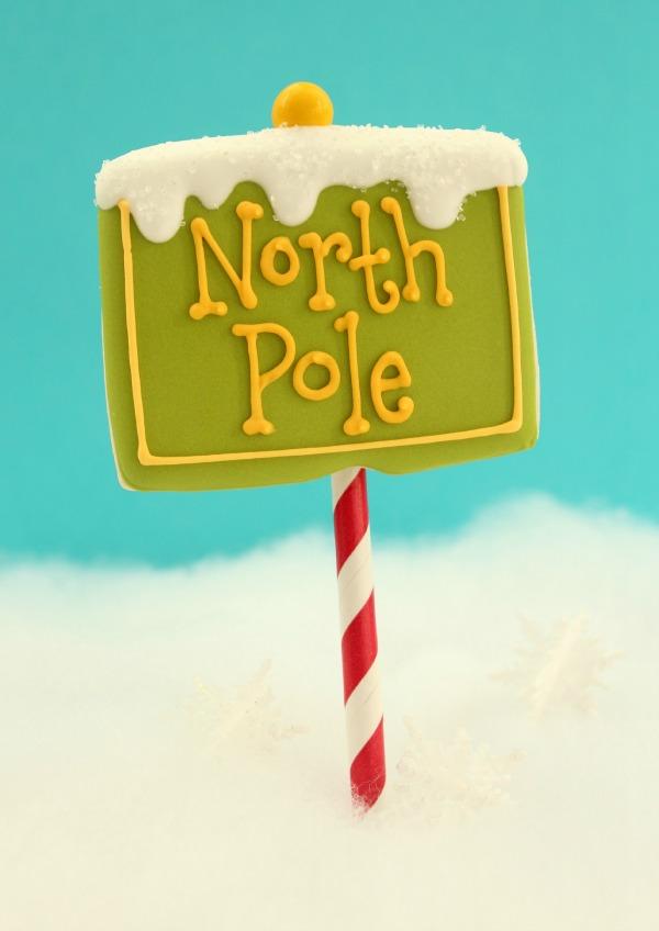 North Pole Cookie Pop