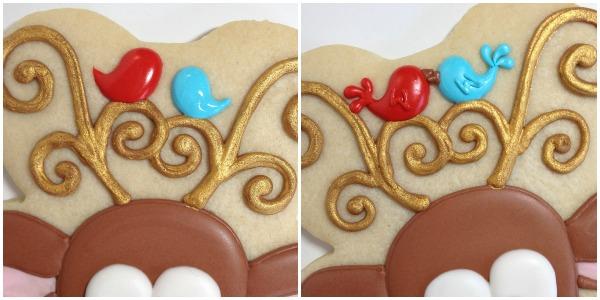 Reindeer Cookies Cookies with Character 10