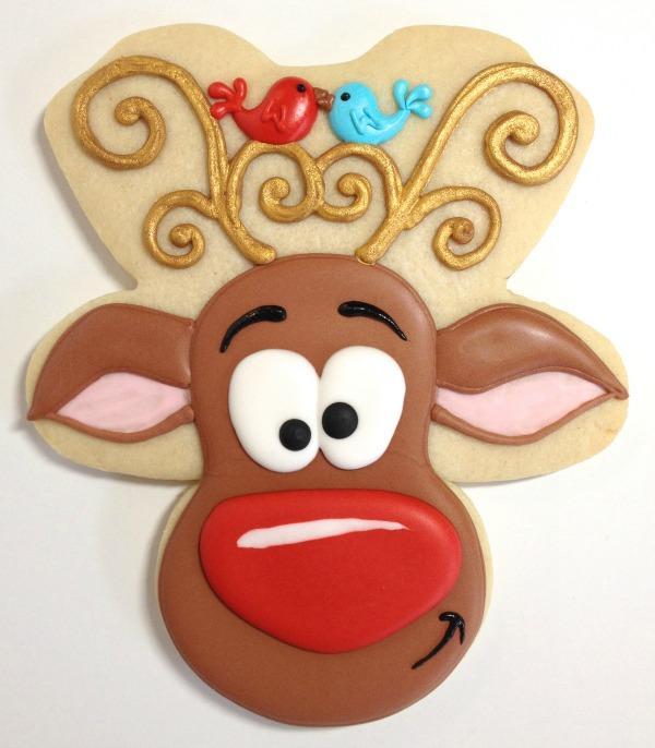 Reindeer Cookies Cookies with Character 11