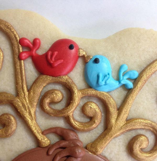 Reindeer Cookies Cookies with Character 13