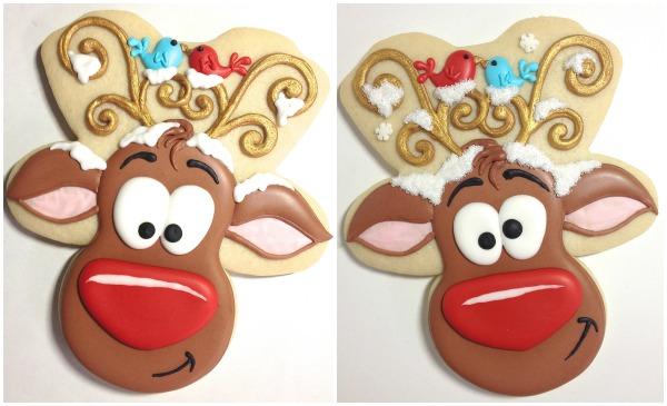 Reindeer Cookies Cookies with Character 14