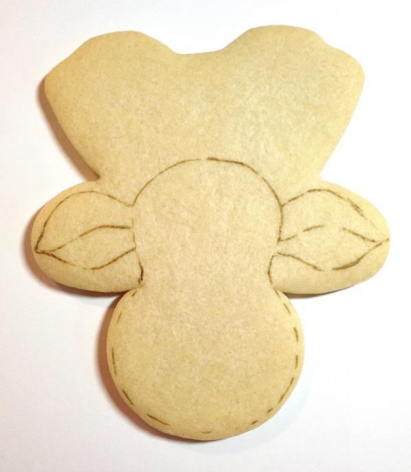 Reindeer Cookies Cookies with Character 3
