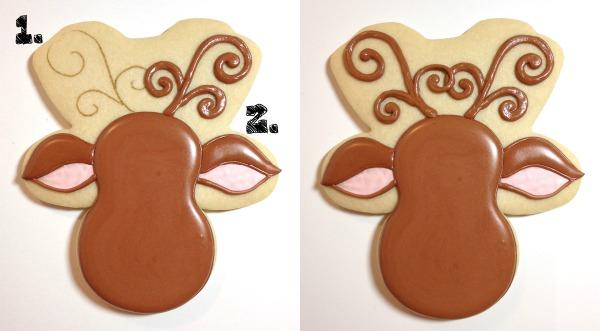 Reindeer Cookies Cookies with Character 6