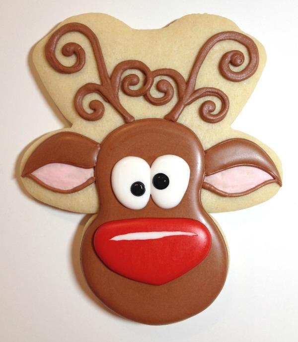 Reindeer Cookies Cookies with Character 8