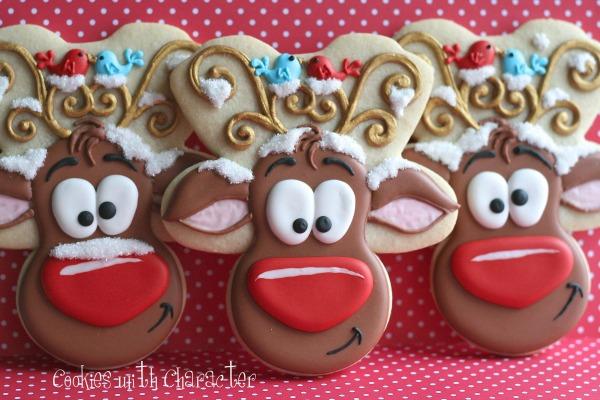 Reindeer Cookies House Cookies