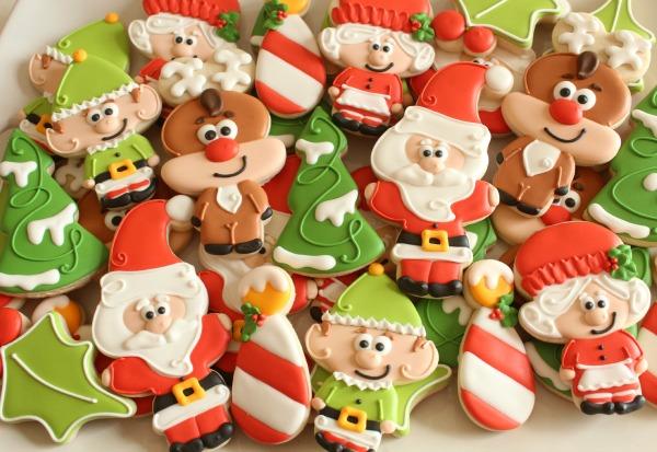 Santa And Friends Christmas Cookies The Sweet Adventures Of Sugar