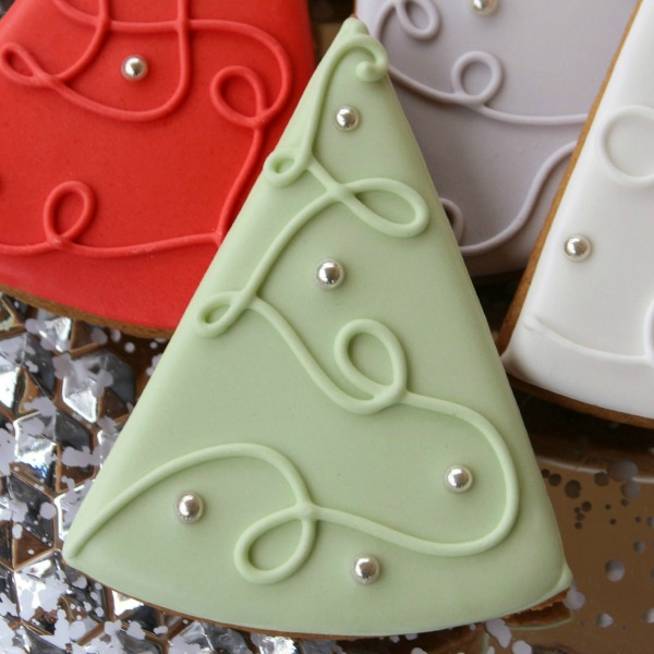 Simple Christmas Tree Cookies The Sweet Adventures Of Sugar Belle
