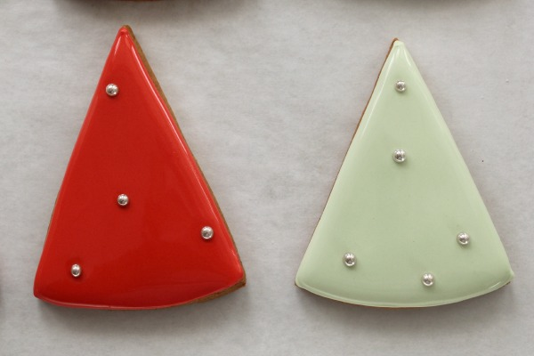 Simple ChristmasTree Cookies 5