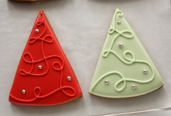 Simple ChristmasTree Cookies 7