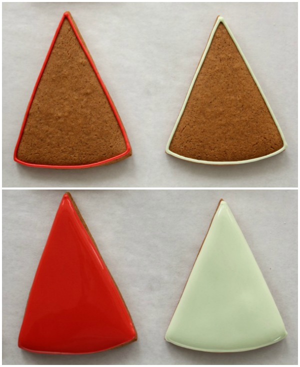 Simple Gingerbread Christmas Trees
