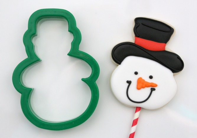 Snowman Cookie Pops 4