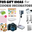 Ten Gift Ideas for Serious Cookie Decorators
