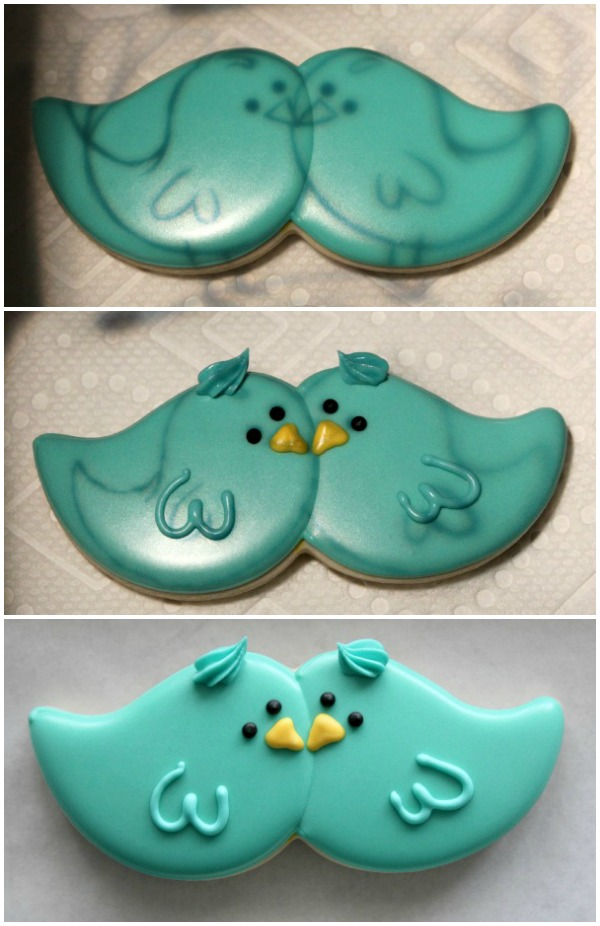Blue Bird Cookie How-To