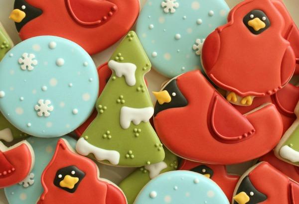 Cardinal Cookie Sweetsugarbelle
