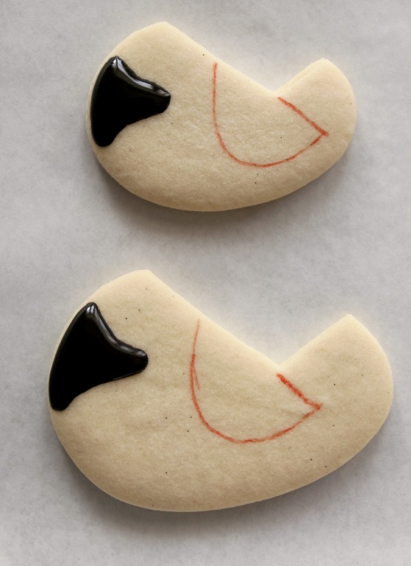 Decorated Cardinal Cookie 2