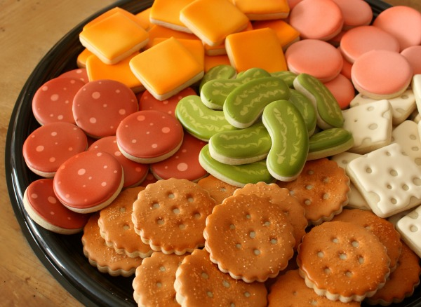 Deli Tray Cookie Platter