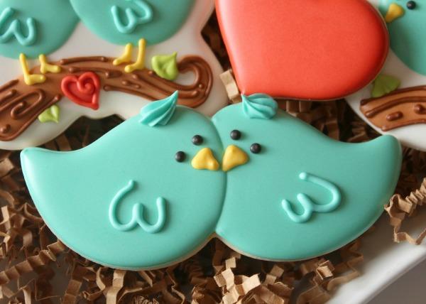 Lovebird Cookies Sweetsugarbelle