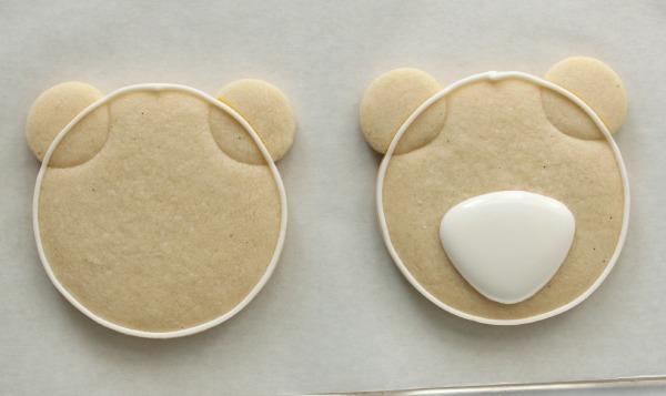 Panda Bear Cookie 1