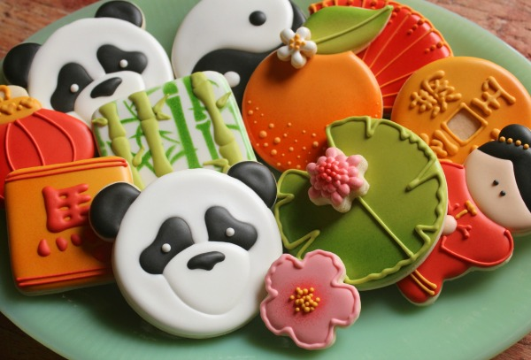 Panda Cookie Platter for Chinese New Year_Sweetsugarbelle
