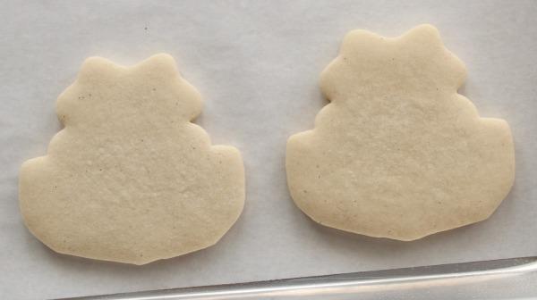 Skunk Face Cookies 1
