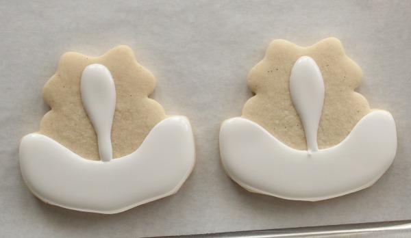Skunk Face Cookies 3