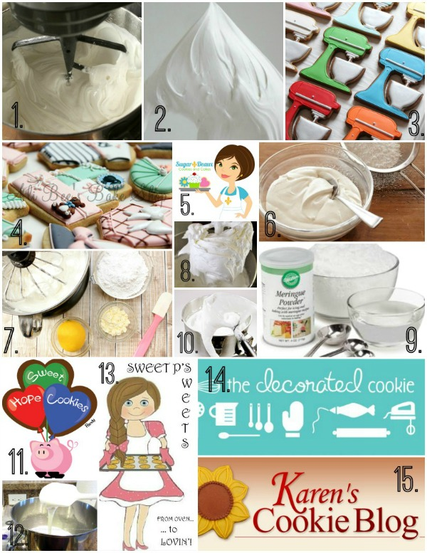 15 Icing Recipes For Cookie Decorating Sweetsugarbelle