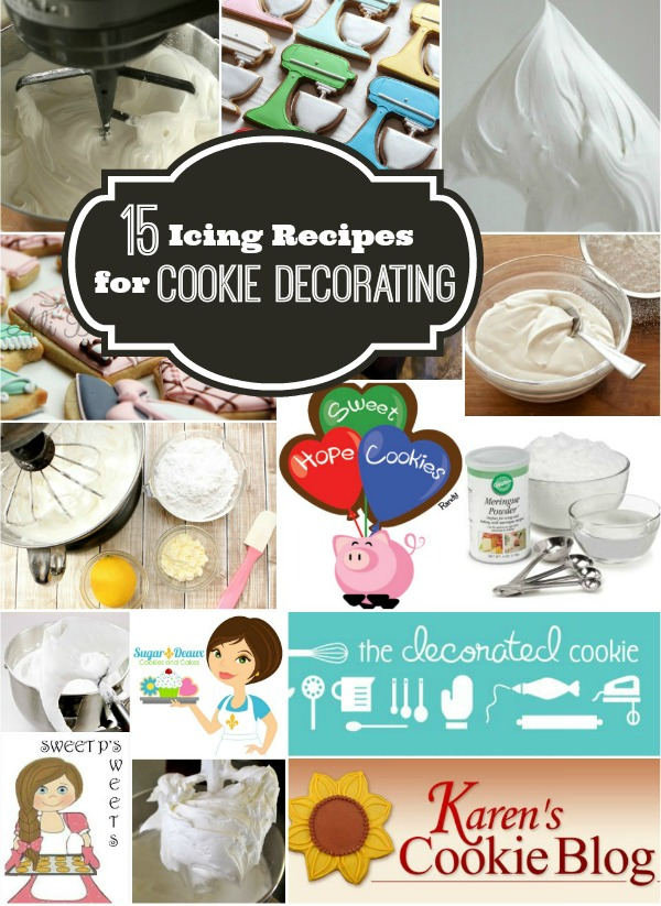 15 Icing Recipes For Cookie Decorating