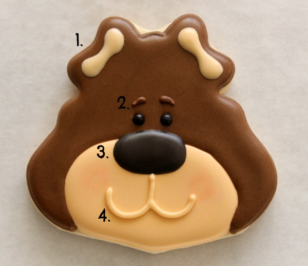 Brown Bear Cookies 5